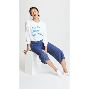 NWT Wildfox Ask Me About My Dog Sweatshirt XS